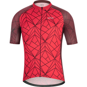 GORE WEAR C3 Jersey Men red/chestnut red